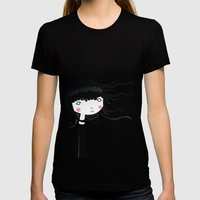 Wind Womens Fitted Tee Black SMALL