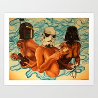 Vices of the Dark Side Art Print