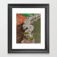 Stumps Framed Art Print
