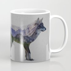 The Rocky Mountain Gray Wolf Mug