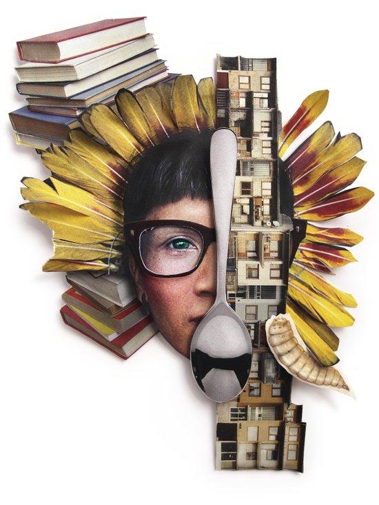 Timber | Collage Art Print