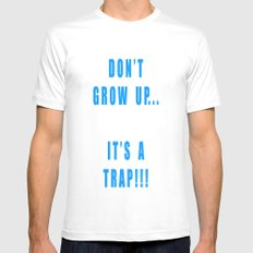IT'S A TRAP!!! Mens Fitted Tee White SMALL