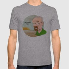 Breaking Bad Mens Fitted Tee Athletic Grey SMALL