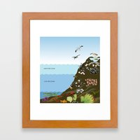 Southern California Tide Pool Explorer's Guide Framed Art Print