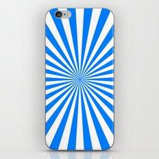 Starburst (Azure/White) iPhone & iPod Skin