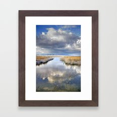 the way for major storms Framed Art Print