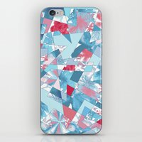 Shattered Floral iPhone & iPod Skin