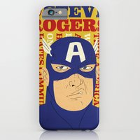 Steve Rogers/Captain America iPhone 6 Slim Case