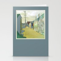 Fifteenth St. San Francisco Stationery Cards