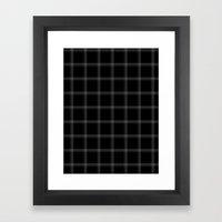 Xadrez Framed Art Print