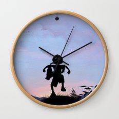 Hulk Kid Wall Clock