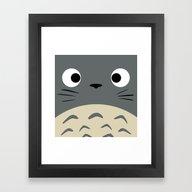 Curiously Troll ~ My Nei… Framed Art Print