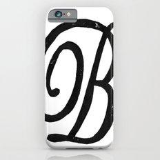 Monogrammed Letter B iPhone 6 Slim Case
