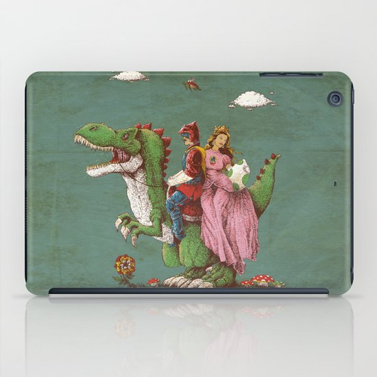 historical reconstitution iPad Case
