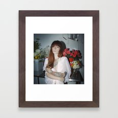 Hattie Floral Framed Art Print