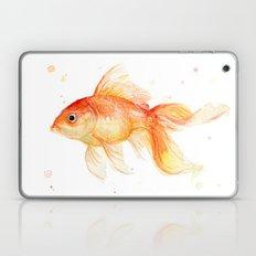 Goldfish Painting Watercolor Fish Laptop & iPad Skin