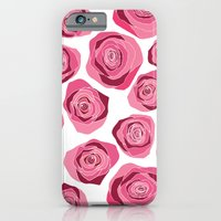 iPhone & iPod Case featuring Roses are pink by Lauren Peckham