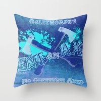 Axe Us About Our Deals! Throw Pillow