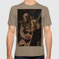Kerry King of Slayer Mens Fitted Tee Tri-Coffee SMALL