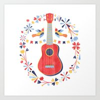 Sing A Song For Me Art Print