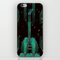 breathing music tonight iPhone & iPod Skin