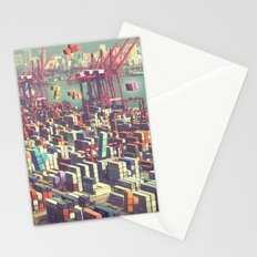 Pier Tetris Stationery Cards