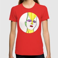 Ghita (previous Age) Womens Fitted Tee Red SMALL