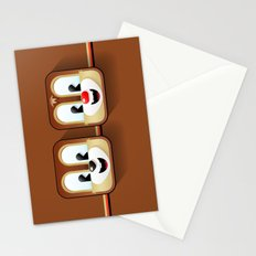 chip and dale Stationery Cards