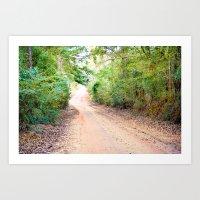 Road to Home Art Print