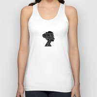silhouette - scattered dreams Unisex Tank Top