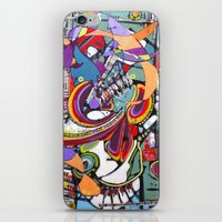 Spark Mandril iPhone & iPod Skin