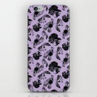 Beta Fish Lavender iPhone & iPod Skin