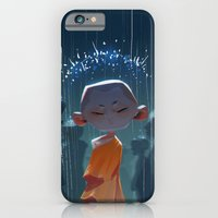 Monk in modern times iPhone 6 Slim Case