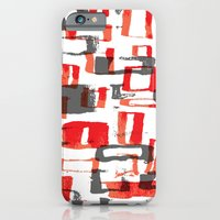 iPhone Cases featuring pattern 13 by Ioana Luscov