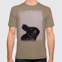 Black Bunny Mens Fitted Tee Tri-Coffee SMALL
