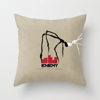 Enemy Throw Pillow