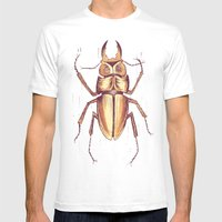 Seizure Mens Fitted Tee White SMALL