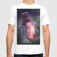 Drink Me Poison Mens Fitted Tee White SMALL