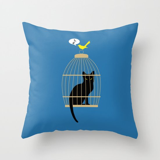 Revenge is Tweet Throw Pillow