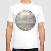 Flow With Life Mens Fitted Tee White SMALL