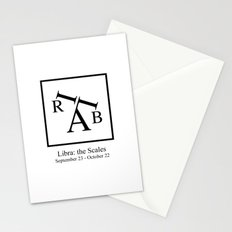 Libra: the Scales Stationery Cards