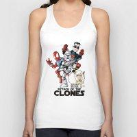 Clones Unisex Tank Top