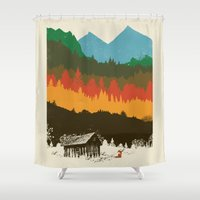 Hunting Season Shower Curtain