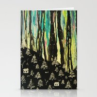 Habits And Habitats Stationery Cards