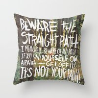 JAMES VICTORE Throw Pillow