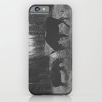iPhone & iPod Case featuring Moose Battle by Kevin Russ
