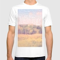 Love Dies  Mens Fitted Tee White SMALL