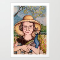 Flannery Art Print