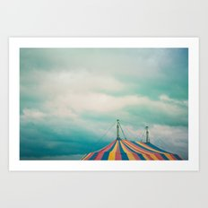 At The Circus II Art Print