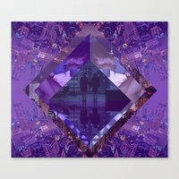 Love Lost City Canvas Print